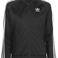 Black Firebird Tracksuit Top by adidas Originals - Black