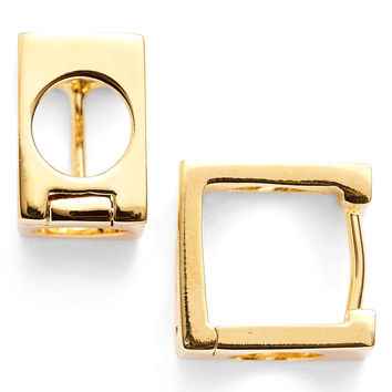MARC JACOBS Hole Punch Hoop Earrings