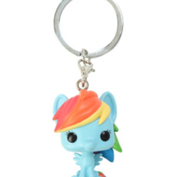 Funko My Little Pony Pocket Pop! Rainbow Dash Key Chain