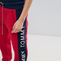 Tommy Jeans Tracksuit Pant with Logo at asos.com