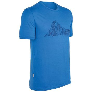 Icebreaker Tech T Lite - Mt Cook - Men's