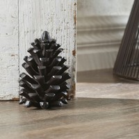 DOOR STOP PINECONE - BROWN