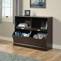 Storage Bin and Bookcase Bookshelf Organizer for Home Office or Kids Room Play Room
