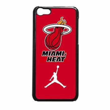 Miami Heat With Nike Jordan iPhone 5c Case