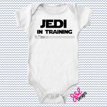 Jedi in Training - Baby Onesuit
