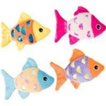 Ethical Cat - Shimmer Glimmer Fish W/catnip Cat Toy