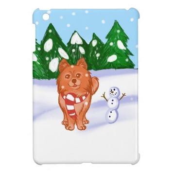 Snow Puppy iPad Mini Cover