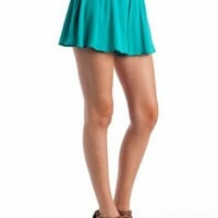 flare shorts $24.80 in CORAL JADE PURPLE - Shorts | GoJane.com