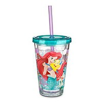 Ariel Tumbler with Straw - Small | Disney Store