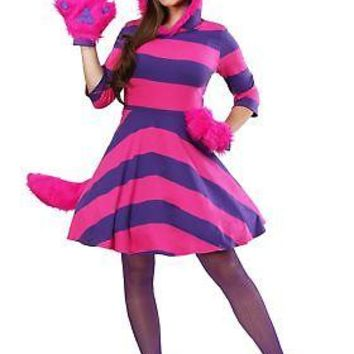 Cheshire Cat Plus Size Women's Costume