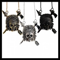 Indian Chief Necklace - Shop