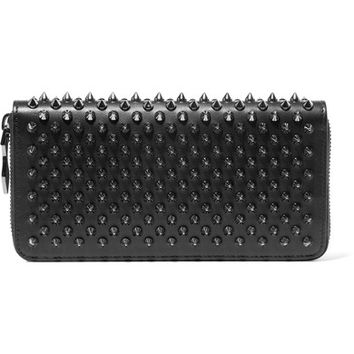 Christian Louboutin - Panettone spiked leather wallet