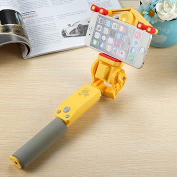 Wireless Bluetooth Rotating Selfie Stick 360 Degree Extendable