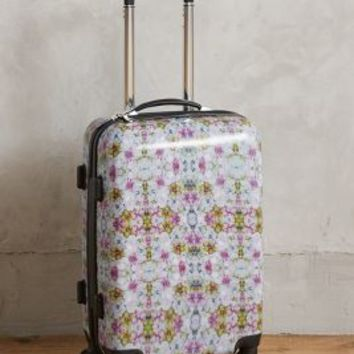 Cynthia Rowley Kaleidoscope Rolling Carry-On in Pink Size: One Size Accessories