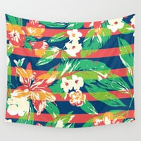 Tropical Wall Tapestry by Steven Toang