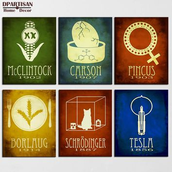 DPARTISAN Steampunk Posters And Prints Wall Art Canvas Painting Wall Pictures Science Geeky Nordic No Frame painting SP-25-30