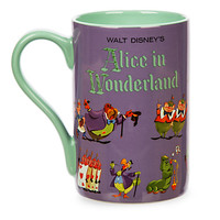 Alice in Wonderland Record Cover Mug