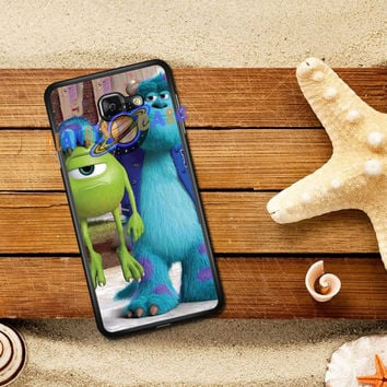 Monsters Inc sulley holding mike Samsung Galaxy J5 Prime | J7 Prime Case Planetscase.com