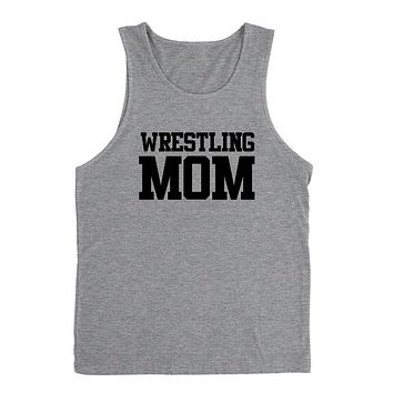 Wrestling mom,mom life, workout clothing, gym, fitness, yoga Tank Top