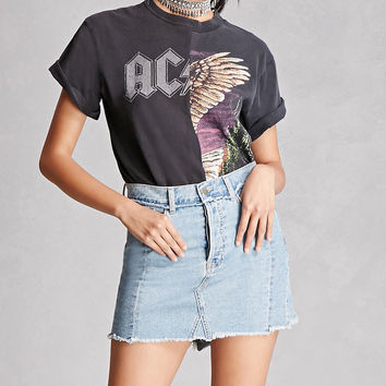 ACDC Half Graphic Band Tee