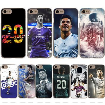 Marco Asensio Real Madrid Star Cover Case for iPhone X 10 8 7 Plus 6 Plus 5 5S