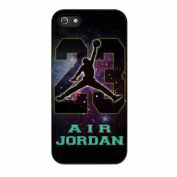 DCKL9 Nike Air Jordan Galaxy Nebula Star iPhone 5 Case