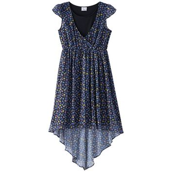Disney D-Signed Floral Tank Top & Maxi Dress - Girls 7-16, Size:
