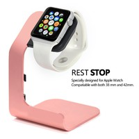 Apple Watch Stand-Tranesca Aluminum Apple watch charging stand for 38mm and 42mm Apple watch-Rose Gold