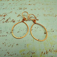 T-Shirt Earrings - Small (Available in premium copper, premium silver-plated, or 24K gold-plated wire.)
