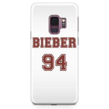 Justin Bieber Journals Samsung Galaxy S9 Plus Case | Casefantasy