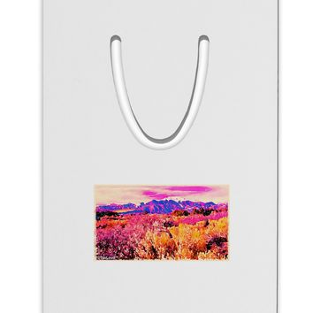 Colorful Colorado Mountains Aluminum Paper Clip Bookmark by TooLoud