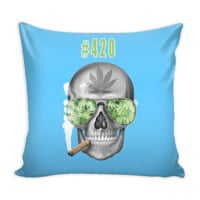 "#420 Weed 16"" Pillow Cover"