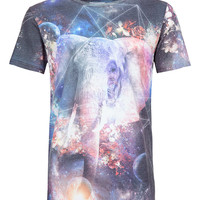 Hype Space Elephant T-shirt* - Men's T-shirts & Tanks - Clothing - TOPMAN USA
