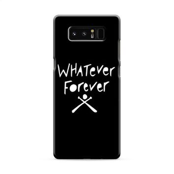 Whatever Forever Modern Baseball Samsung Galaxy Note 8 Case