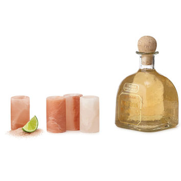 Himalayan Salt Shot Glasses- Set of 4