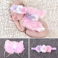 Baby Angel Wings Set - Newborn Photography Props