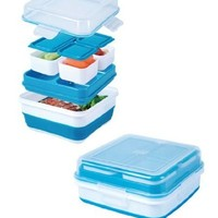 Cool Gear Ez-freeze® Collapsible Bento Box (Assorted Colors)