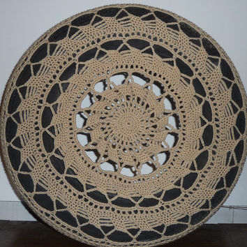 Lacy Crochet Spare Tire Cover
