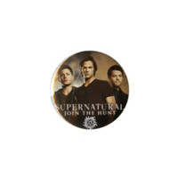 "Supernatural Trio 3"" Pin"