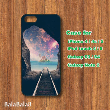 dream tunnel - iPhone  5 case, iphone 4 Case, iPod 4 case,  iPod 5 case,  Samsung Galaxy S3, samsung Galaxy S4 case, samsung Galaxy note 2