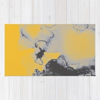 Lellow Rug by duckyb