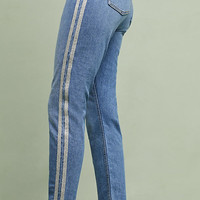 Pilcro High-Rise Slim Straight Jeans