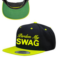 Pardon My Swag Snapback Hat