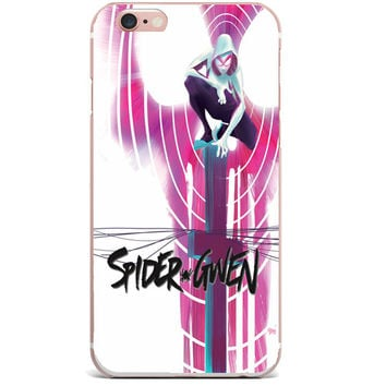 Marvel's Spider Gwen Case for Apple iPhone 7