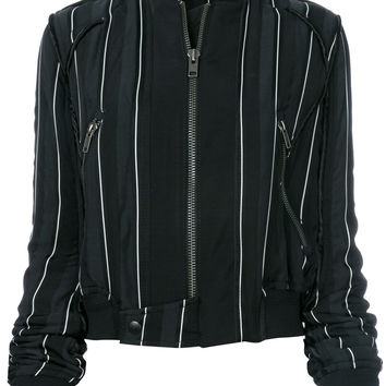 Haider Ackermann Striped Bomber Jacket - Farfetch