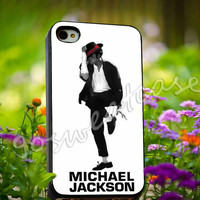 michael jackson cover album - for iPhone 4/4s, iPhone 5/5s/5C, Samsung S3 i9300, Samsung S4 i9500 Hard Plastic Case