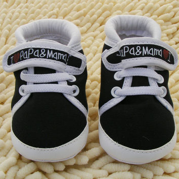 0-18M Baby Infant Kids Boy Girls Soft Sole Canvas Sneaker Toddler born Shoes PY1 SM6