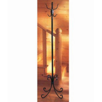 Stone County Ironworks 901329-901856 Breckenridge Antique Copper Standing Coat Rack - (In Antique Copper)