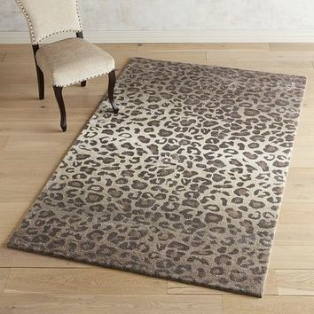 Ombre Leopard Rug