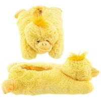 Adult & Children Kid Size Duck Animal Plush Fuzzy Slippers